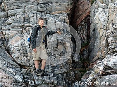 The rock-climber 02