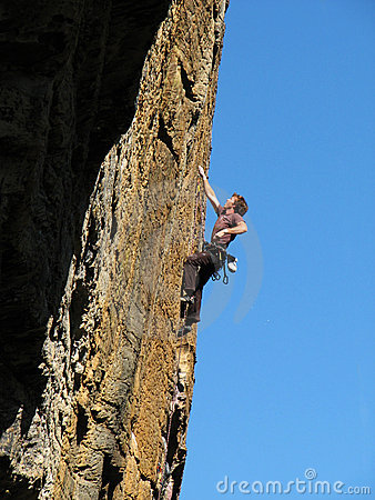 Rock Climber Royalty Free Stock Photography - Image: 3821987