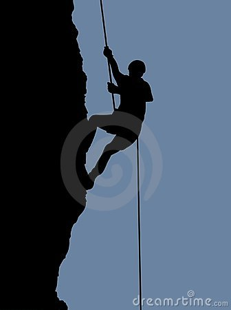 Free Rock Climber Royalty Free Stock Photography - 782527