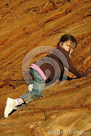 Rock Climber Girl