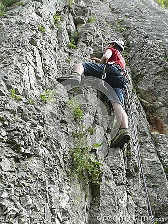 Free Rock Climbing Royalty Free Stock Image - 18013616
