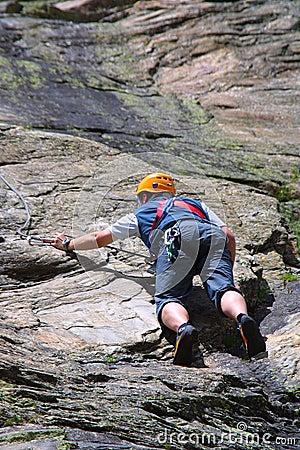 Free Rock Climbing Royalty Free Stock Photo - 1902895