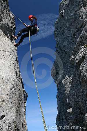 Free Rock Climbing Royalty Free Stock Photography - 7128527
