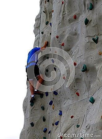 Free Rock Climbing Wall Stock Photos - 22680113