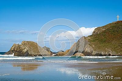 Rock coast