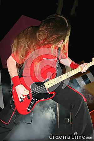 Rock concert Editorial Stock Photo