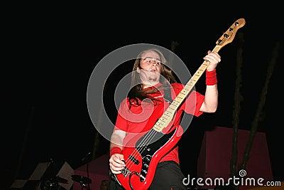 Rock concert Editorial Stock Image