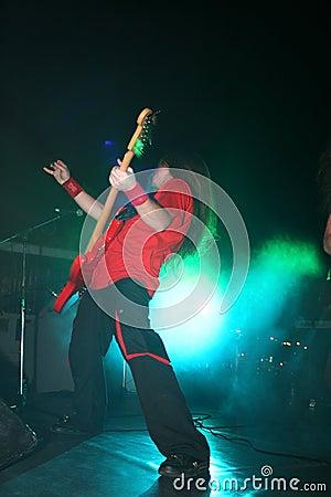 Rock concert Editorial Photo