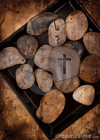 Rock with Cross