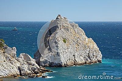 Rock Diva in the town Simeiz in Crimea