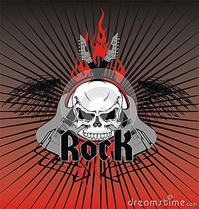 Rock emblem