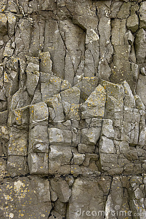 Free Rock Face Detail, Sand Point Beach England, Uk Royalty Free Stock Image - 205506
