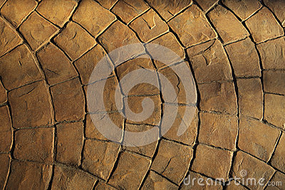 Rock floor use as texture background