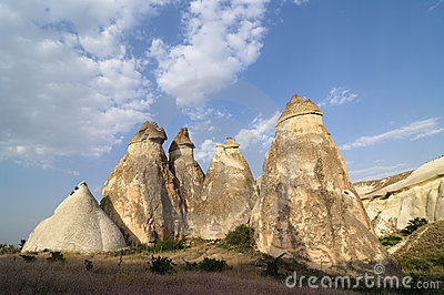 Rock Formation Pasabagi Cappadocia, Turkey
