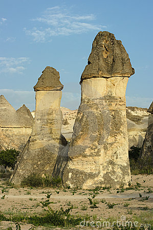 Rock Formation Pasabagi Cappadocia, Turkey