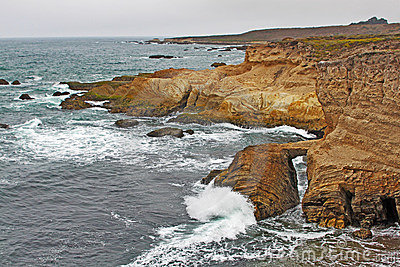 Rock Formations on the Central Coast of California