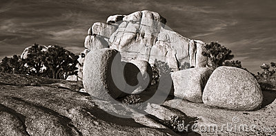Rock Formations in Hidden Valley