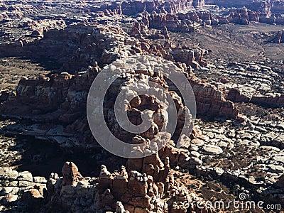Rock formations, Utah.