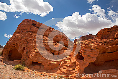 Rock formations Valley of fire