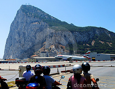 Gibraltar airport Editorial Photography