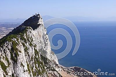 Rock of Gibraltar vista