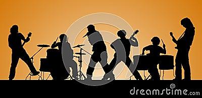 Rock group.