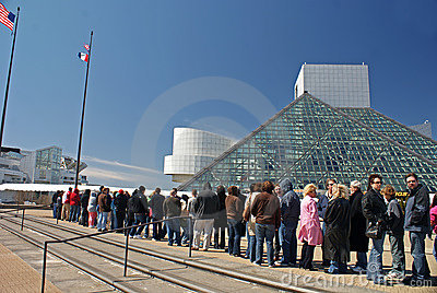 Rock Hall Induction Day 2009 Editorial Stock Photo