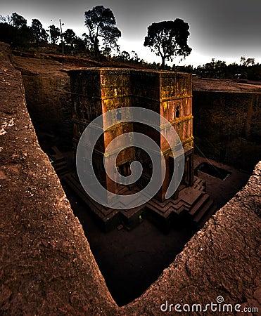 Free Rock Hewn Church Of Saint George, Lalibela, Ethiopia Royalty Free Stock Photos - 126227848