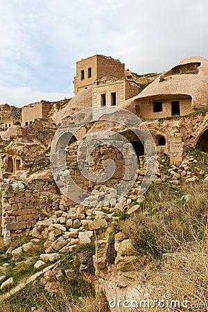 Free Rock Houses Of Cavusin, Cappadocia, Turkey Stock Photography - 17454702