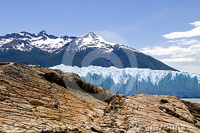 Rock and ice of Argentina
