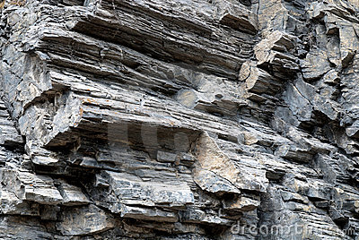 Rock layers