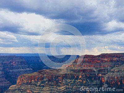 Rock Mountain View Under White Clouds Free Public Domain Cc0 Image