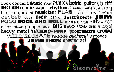 Rock Music Words