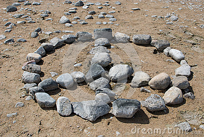 Rock Peace Sign