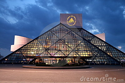 Rock And Roll Hall Of Fame Editorial Stock Image