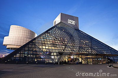 The Rock and Roll Hall of Fame Editorial Stock Photo
