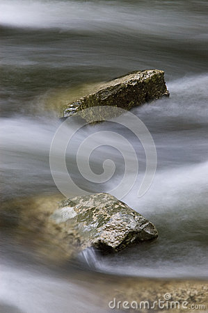 Rock in Rushing River