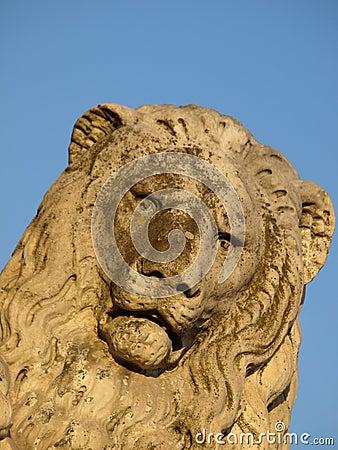 Free Rock S Lion Royalty Free Stock Photos - 5435878
