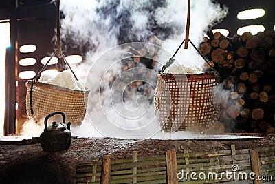 Rock salt  boiling