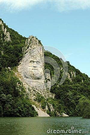 Free Rock Sculpture Of Decebalus, Romania Royalty Free Stock Photography - 15669267