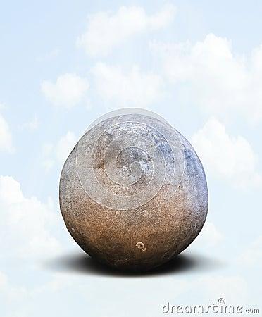 Rock sphere
