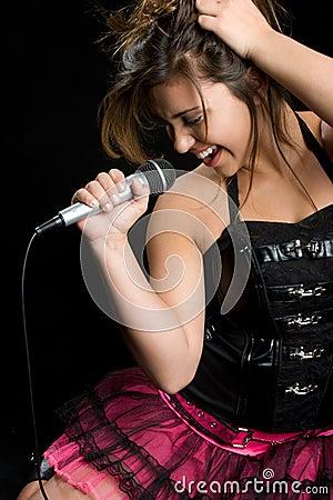 Free Rock Star Singer Royalty Free Stock Image - 11419136