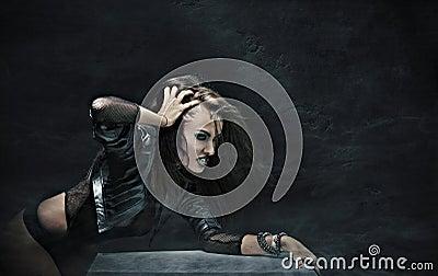 Rock-star woman