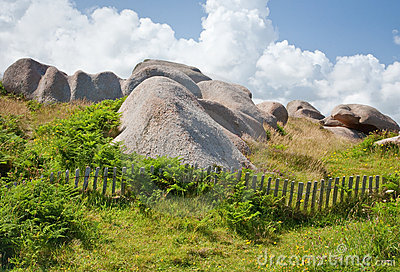 Rock wasteland