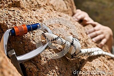 Rockclimber s hands