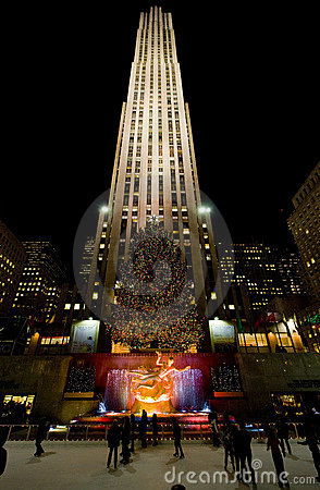 Rockefeller Center Editorial Photography