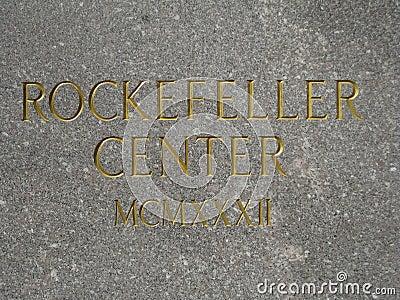 Rockefeller Center Editorial Photography