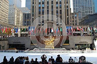 Rockefeller Center, New York Editorial Photo