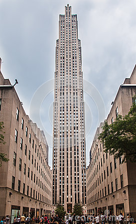 Rockefeller Center New York Editorial Image