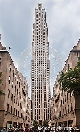 Rockefeller Center New York Editorial Image Image 27419765